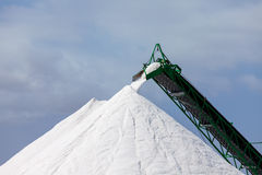 Extraction of salt Stock Image
