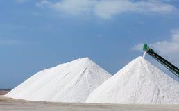 Extraction of salt Stock Photos