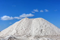 Extraction of salt Royalty Free Stock Photography