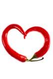 Extracto ardiente del amor Foto de archivo libre de regalías