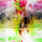 Extracto Arte Pintura gráfico Abstracción cuadro Fotos de archivo libres de regalías