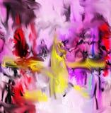 Extracto Arte Pintura gráfico Abstracción cuadro Foto de archivo libre de regalías