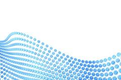 Extracto azul de las esferas Fotografía de archivo libre de regalías