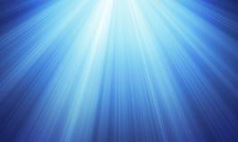 Extracto azul de las luces Fotografía de archivo