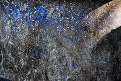 Extracto azul trashcan de la textura del fondo Fotos de archivo libres de regalías