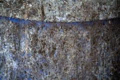 Extracto azul trashcan hermoso de la textura del fondo Foto de archivo libre de regalías