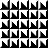 Extracto biselado, modelo grabado en relieve, backgro geométrico monocromático stock de ilustración
