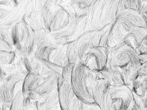 Extracto blanco del remolino de la pintura Imagen de archivo libre de regalías