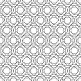 Extracto blanco y negro inconsútil del fondo del modelo Fotos de archivo