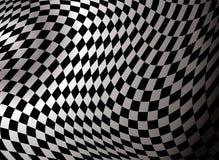Extracto Checkered Foto de archivo