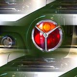 Extracto clásico del detalle del coche Foto de archivo libre de regalías