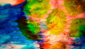 Extracto coloreado del agua Imagen de archivo libre de regalías