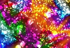 extracto colorido del bokeh Foto de archivo libre de regalías