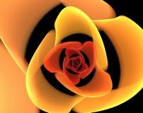 Extracto colorido del fractal stock de ilustración