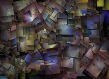 Extracto colorido dimensional Foto de archivo