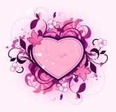 Extracto con el corazón Imagenes de archivo