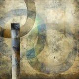 Extracto con los círculos Fotografía de archivo libre de regalías