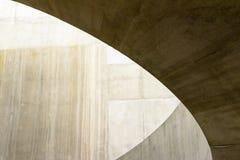 Extracto constructivo de la sombra del círculo de Brown Imágenes de archivo libres de regalías