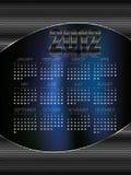 Extracto de 2012 calendarios Foto de archivo libre de regalías