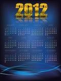 Extracto de 2012 calendarios Foto de archivo