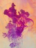 Extracto de disolución de la pintura foto de archivo