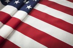 Extracto de la bandera americana Imagenes de archivo