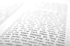 Extracto de la biblia con respecto a las siete especies imagen de archivo libre de regalías