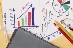 Extracto de la estrategia empresarial Imagen de archivo libre de regalías