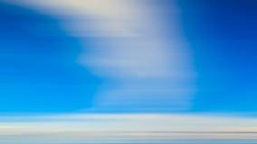Extracto de la falta de definición de movimiento de la nube Foto de archivo libre de regalías