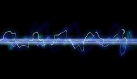 Extracto de la forma de onda foto de archivo libre de regalías