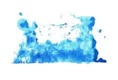 Extracto de la mancha blanca /negra de la tinta Foto de archivo