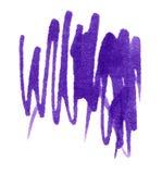 Extracto de la mancha blanca /negra de la tinta Imágenes de archivo libres de regalías