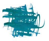 Extracto de la mancha blanca /negra de la tinta Fotos de archivo libres de regalías