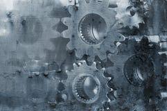 Extracto de la maquinaria del engranaje Fotografía de archivo libre de regalías