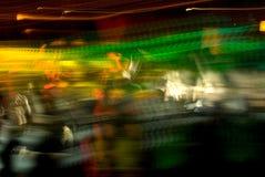 Extracto de la muchedumbre del club Fotografía de archivo