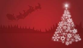 Extracto de la Navidad Foto de archivo libre de regalías