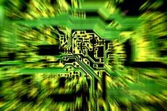 Extracto 3 de la placa de circuito Imagen de archivo