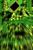 Extracto de la placa de circuito Fotografía de archivo