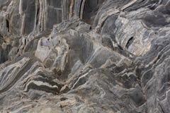 Extracto de la roca de pizarra Fotos de archivo