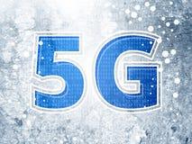 extracto de la tecnología 5G como fichero del JPG Fotos de archivo