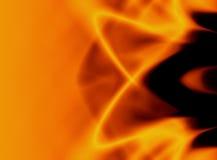 Extracto de las llamas que oscila Fotografía de archivo libre de regalías