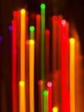 Extracto de las luces de la Navidad Foto de archivo libre de regalías