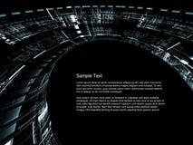 Extracto de las tecnologías espaciales foto de archivo libre de regalías