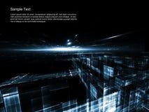 Extracto de las tecnologías espaciales imagen de archivo libre de regalías