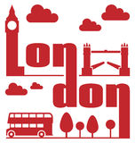Extracto de Londres Foto de archivo libre de regalías