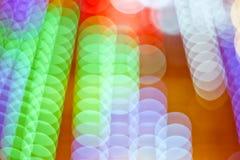 Extracto de luces Foto de archivo libre de regalías