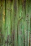 Extracto de madera del verde de la textura viejo fotografía de archivo