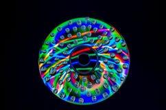 Extracto de neón en el CD Imagenes de archivo