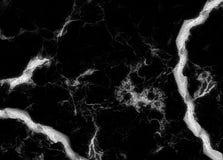 Extracto de piedra natural del modelo de la textura de mármol negra del fondo con la alta resolución Fotos de archivo
