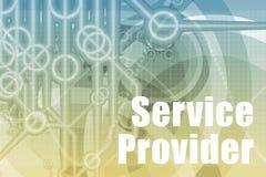 Extracto de Service Provider Fotografía de archivo libre de regalías